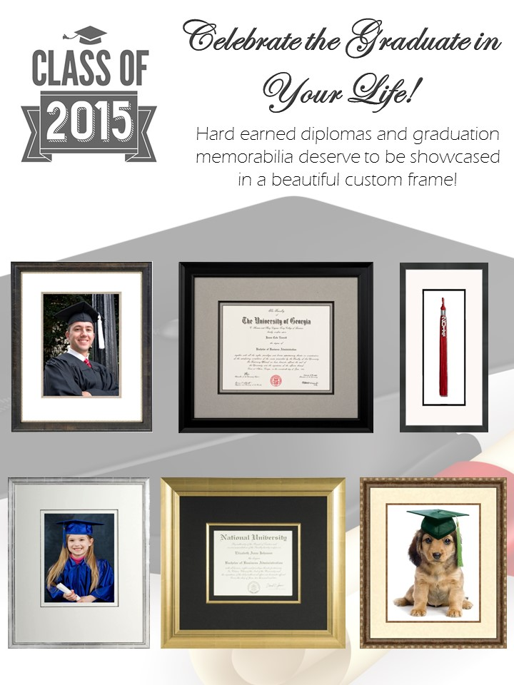 June is Diploma Discount Month | islandframed