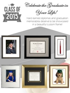 15 % OFF Diploma Framing till June 30th.